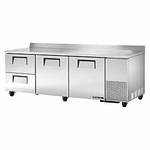 True Twt 93d 2 hc 93 Work Top Refrigerated Counter