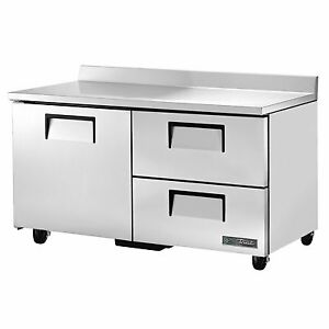 True Twt 60d 2 hc 60 Work Top Refrigerated Counter