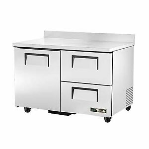 True Twt 48d 2 hc 48 Work Top Refrigerated Counter