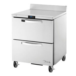 True Twt 27d 2 hc spec3 27 Work Top Refrigerated Counter