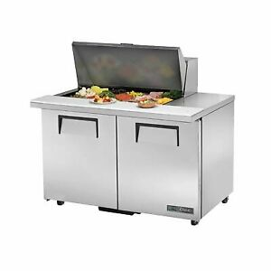 True Tssu 48 15m b ada hc 48 Mega Top Sandwich Salad Unit Refrigerated Counte