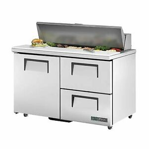 True Tssu 48 12d 2 ada hc 48 Sandwich Salad Unit Refrigerated Counter