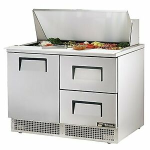 True Tfp 48 18m d 2 48 Mega Top Sandwich Salad Unit Refrigerated Counter