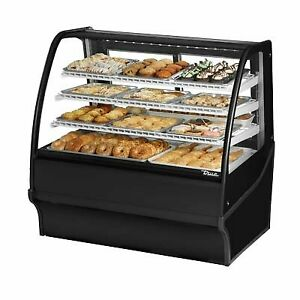 True Tdm dc 48 ge ge s s 48 Non refrigerated Bakery Display Case