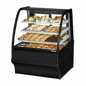 True Tdm dc 36 ge ge s s 36 Non refrigerated Bakery Display Case