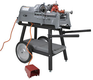 Reconditioned Ridgid 535 V1 Pipe Threading Machine With 150a Cart 811a Die Head