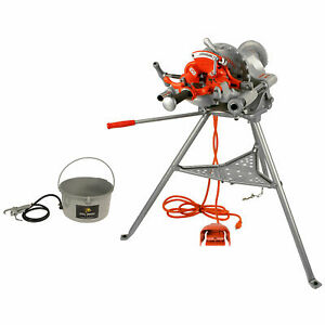Reconditioned Ridgid 300 Pipe Threading Machine And Genuine Accessories 15682