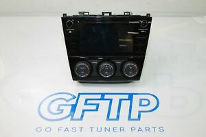 15 20 Subaru Wrx Sti Oem Harman 86431va620 Piano Black Radio Head Unit 2019 19