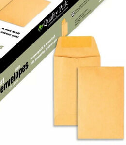 Qty 100 Val Box Brand Kraft 1 Size Kraft Envelopes 2 25x3 5 Ideal For Seeds