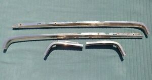 1966 1967 66 67 Dodge Charger Quarter Window Belt Moldings Trim