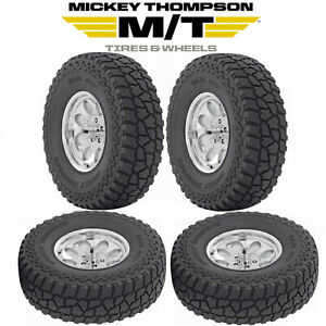 4 New Mickey Thompson Baja Atz P3 Tires All Terrain 37x12 50r20 Load Range E