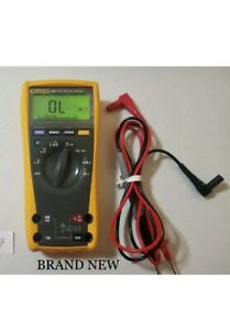 Fluke 179 great Condition True Rms Multimeter With Upgrade Probes
