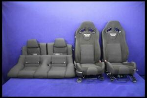 2012 Ford Mustang Boss 302 Cloth Recaro Coupe Front Rear Seats Hot Rod Restomod