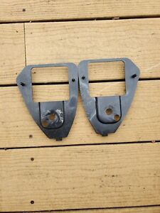 87 93 Ford Mustang Foxbody Coupe Rear Shoulder Seat Belt Bezel Right Left Side