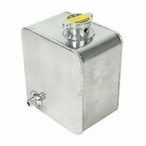 2 5l Universal Aluminum Coolant Radiator Overflow Recovery Water Tank Bottle