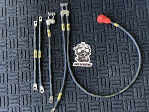 96 00 Honda Civic Ek Charge Harness And Ground Kit Raychem V2