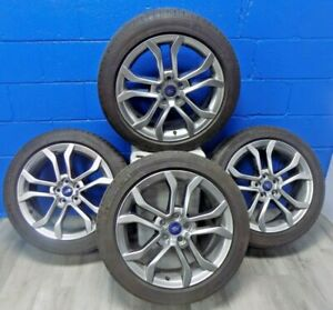Set Of Ford Fusion 17 20 Rims 10120 Michelin Energy Saver A s Tires 235 45r18