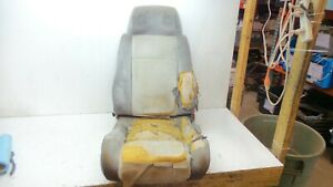 84 88 Fiero Front Driver Lh Seat With Speakers In Headrest