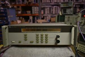 Agilent Hp 5350b Microwave Frequency Counter 20ghz Worked To 26ghz