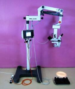 Endure Medical 690 Power Leica Wild Ophthalmic Surgical Microscope Illumin i