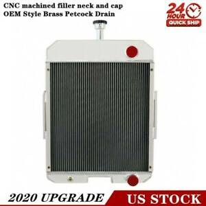396352r91 Aluminum 5 Row Radiator For Case Ih 666 686 706 756 2706 2756 Us
