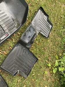 Weathertech Floor Mats Liners Jeep Renegade 2018 Full Set Three Piece