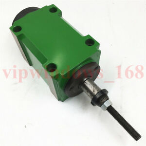 Mechanical Spindle Head Unit Bt40 Power Head 3000 6000rpm With Drawbar Milling