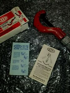 New Reed Tc2q Quick Release Tubing Cutter 1 4 2 3 8 Lifetime Warranty Usa