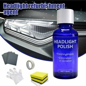 Us Car Accessories 9h Headlight Cover Len Restorer Repair Liquid Polish Cleane