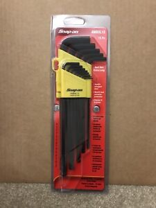 Snap On Imperial Hex Allen Key Set Extra Long Ball End 13 Piece New
