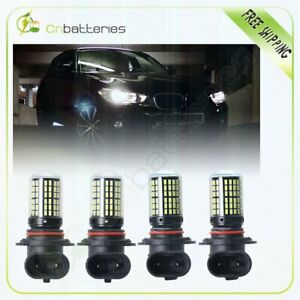 2set High Power 9006 9005 Hb3 Headlight Cree Led Hid 144smd Super White Us Stock