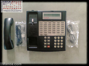 Avaya Lucent Att Partner 34d Series 1 Black Business Phone 107305054 7515h04a 00