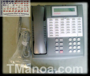 Avaya Lucent Att Partner 34d Series 1 Gray Business Phone 107320749 7515h04a 323