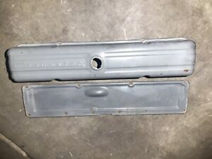 1958 1962 Chevrolet Script Valve Cover And Lifter Cover 216 235 261 Vintage