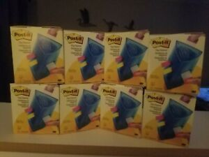 8 Eight 3m Post it Flag Dispensers great Organizer Holds All Sized Flags New