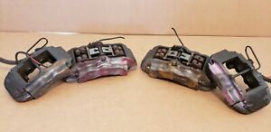 2004 2010 Porsche Cayenne Audi Q7 Brembo Brake Calipers Set 17z Front Rear