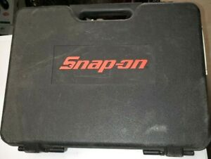 Snap On Tools Cts561cl Case Only Cordless Screwdriver Case And Manual