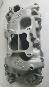 Weiand 8005 2p 180 Big Block Chevy Oval Port Intake Idle To 6500 Rpm