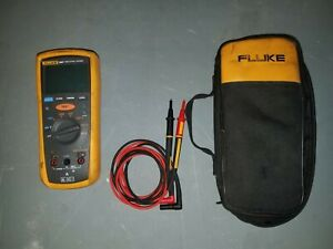 Fluke 1507 Insulation Tester With Case And Accessories