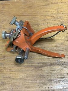 Schlage Key Cutter Hand Punch Rare Vintage Locksmith Collector Item