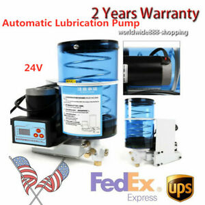 24v Electric Grease Oil Pump 2l Lubricant Punching Butter Oiler Pump D6mm Usa
