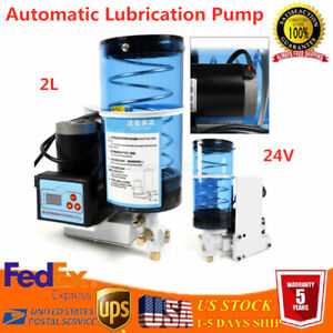 Automatic Grease Oil Pump 2000ml Electric Lubrication Butter Pump Punching Us