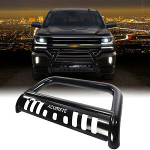Brush Bumper Grille Guard Bull Bar For 07 18 Chevy Avalanche Cadillac Escalade