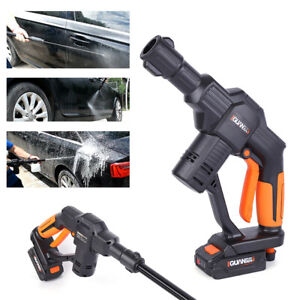 Cordless Pressure Washer Car 12v Rechargeable Spray Gun Foam Lance For Auto Car