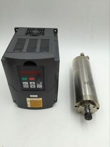 800w Water Cooled Spindle Motor 110v 1 5kw Vfd Inverter For Cnc Router Engraving