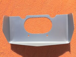 1971 1972 Pontiac Grand Prix New License Pocket Rear Bumper Close Out Panel