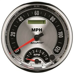 Autometer 1295 American Muscle Tach speedometer Combo