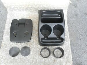 94 97 Ford Ranger Floor Dual Cupholder Assembly Center Console Insert Trim Oem