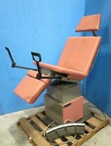 Ritter 119 Power Procedure Ob gyn Exam Table With Footswitch
