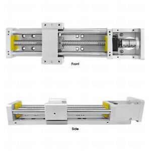 Cross Slide Linear Module Sliding Stage Table 300mm Travel Cnc Xyz Axis Milling